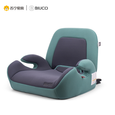 BIUCO貝歐科兒童安全座椅寶寶小靠背增高墊3-12歲isofix硬接口