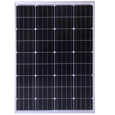 全新100W瓦单晶阿斯卡利太阳能板太阳能电池板发电板光伏发电系统12V家用 12V/24V30A控制器