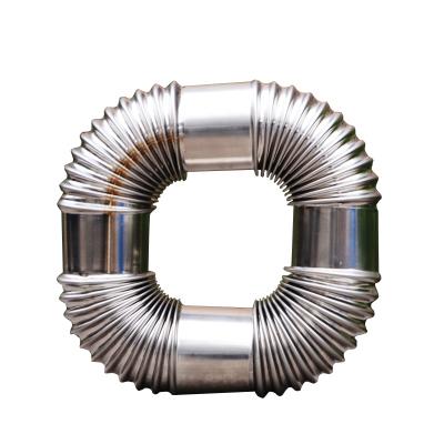 幫客材配 冰一點 燃氣 熱水器不銹鋼彎頭 規格:φ60 單價3.8元/根 20根起批