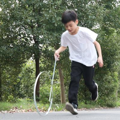 推铁环滚铁圈儿童幼儿园户外风火轮80后怀旧圆形手滚圈圈学生