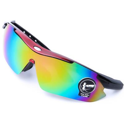 騎行眼鏡變色戶外運動跑步防風摩托車眼鏡男女墨鏡山地自行車裝備戶外騎行眼鏡自行車運動眼鏡紅街拍