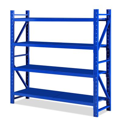 欧宝美仓储货架超市仓库储物架展示架置物架中型货架夹层