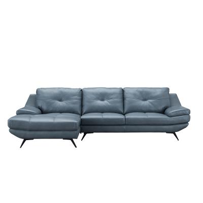 适居之家时尚真皮沙发组合S661-L 左躺位