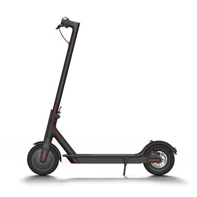 小米(mi)电动滑板车 智能体感车 黑色 成人/学生 迷你便携 折叠双轮车时速20-30km/h 黑色