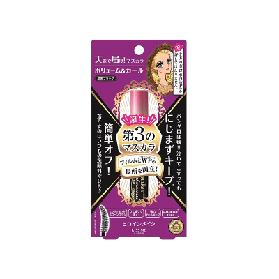 Kiss Me 奇士美 花漾美姬自然卷翹濃密防水睫毛膏 6g