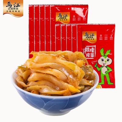榨菜烏江涪陵榨菜微辣榨菜30g*10袋微辣休閑下飯菜咸菜