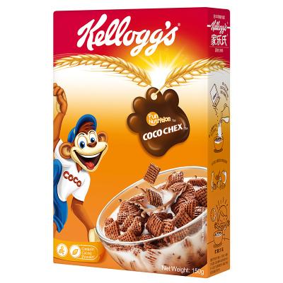 家乐氏(Kellogg's) 谷脆格150g麦片进口谷物早餐麦片可单做零食吃 即食冷冲饮