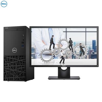 戴爾(DELL)成銘3980商用臺式電腦 19.5英寸顯示器(Intel I3-8100 4GB 1TB 無光驅 集顯 W10H)商用辦公 家用娛樂 性價比機 企業采購 學生用機