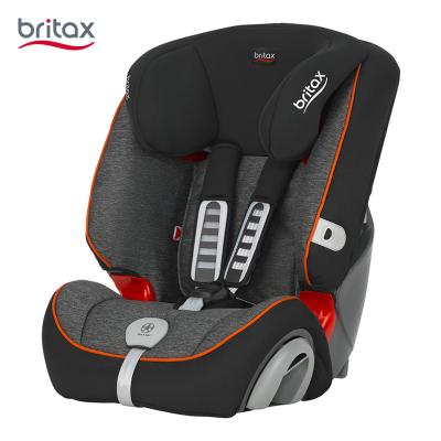 宝得适(Britax)汽车儿童安全座椅 超级百变王(9个月-12岁) 曜石黑