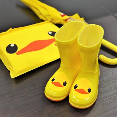 兒童雨鞋男童女童幼兒膠鞋小孩防滑水鞋小童學生靴子寶寶雨靴