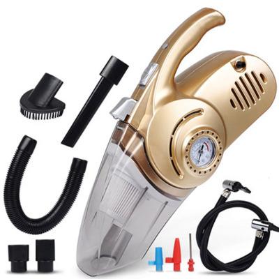 GIAUSA車載吸塵器充氣汽車打氣泵12V車內車用干濕兩用照明大功率四合一