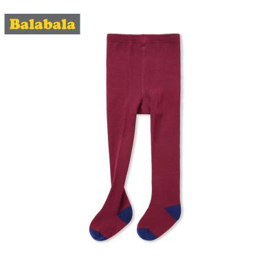 巴拉巴拉女童袜子儿童棉袜薄款透气棉弹力连裤袜女孩长袜时尚百搭