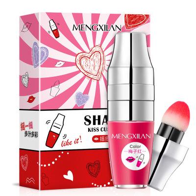 搖搖樂唇釉持久保濕氣墊口紅多色彩妝染唇油化妝品