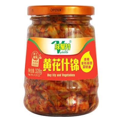 味聚特黄花什锦 328g下饭菜四川特产农家风味早餐小菜咸菜