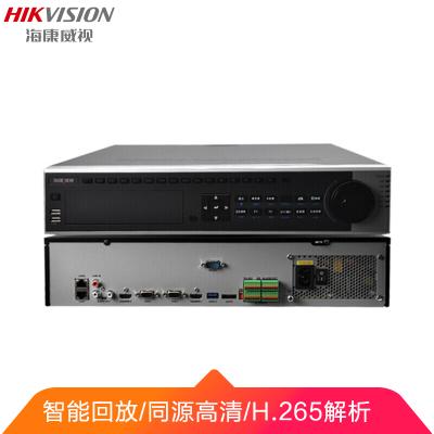 海康威视监控硬盘录像机高清监控主机NVR网络主机32路支持4K高清DS-8832N-K8 带4块6TB硬盘