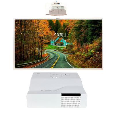 【套餐】NOMICO 90英寸智能会议触摸互动电子白板多媒体教学投影一体机(商用系i7版)+松下GW301C投影仪