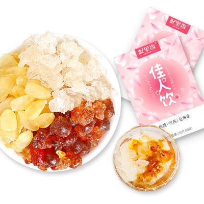 杞里香(QiLiXiang) 桃胶雪燕皂角米健康组合150g传统滋补营养品
