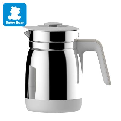 小白熊调奶温奶器HL-0855 不锈钢壶配件1200ML水壶配件原装