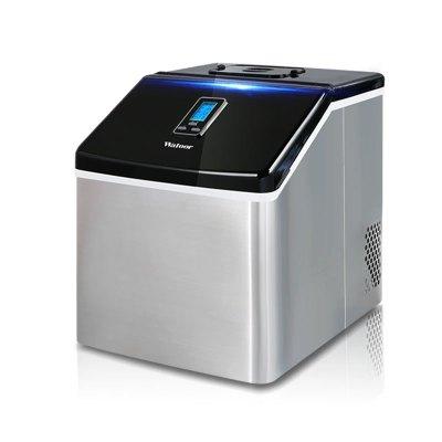 沃拓萊制冰機25kg/24h手動加水方冰快速小型迷你桌面2019新款 家用制冰機 商用制冰機 酒吧奶茶店KTV冰塊制作機
