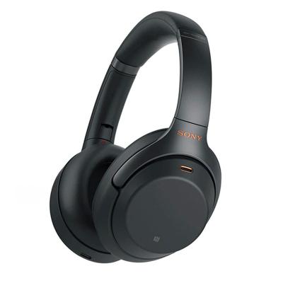 索尼(SONY)WH-1000XM3頭戴式無線藍牙智能降噪HIFI發燒級運動跑步 1000XM2升級耳機耳麥立體聲 黑色