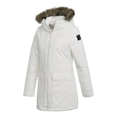 阿迪達斯(adidas)冬季新款女子運動服保暖棉衣棉襖外套CY8607