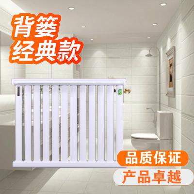 暖氣片家用閃電客鋼制衛浴小背簍/散熱器暖氣衛生間 銅鋁壁掛水暖散熱片 9+1長60厘米 0.6m