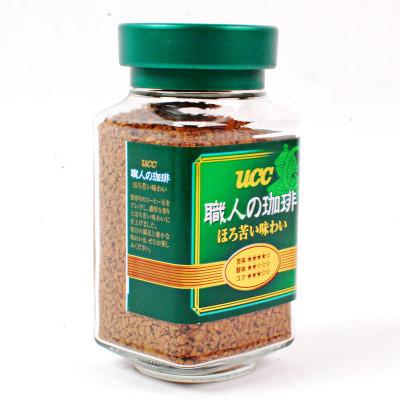 【偏苦口感】悠诗诗(UCC)绿标精品速溶职人咖啡 90g/瓶 进口咖啡粉 速溶咖啡 黑咖啡 冲调饮品 日本进口