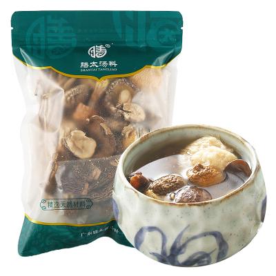 膳太 羊肚菌鮑魚菇雜菌靚湯 全家有好脾胃好體質 廣東煲湯料滋補湯料包 k95