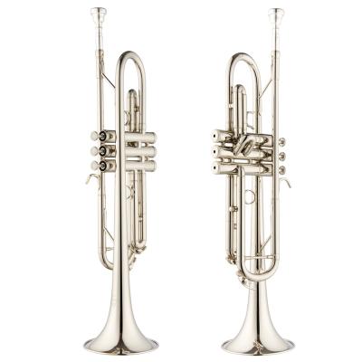 爵士朗乐器小号乐器 降B调 JZTR-300N 管乐镀银小号