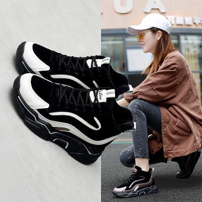 森达利女鞋LH-512女鞋 新款运动鞋 女鞋冬季棉鞋内增高 马丁靴女 老爹鞋女 跑步鞋短靴鞋子女韩版女学生 女鞋