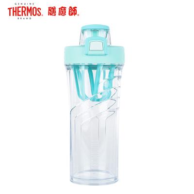 膳魔师(Thermos)男女便携运动Tritan塑料水杯710ML/500ML蛋白粉摇摇杯TP4086 家用/旅行/通用