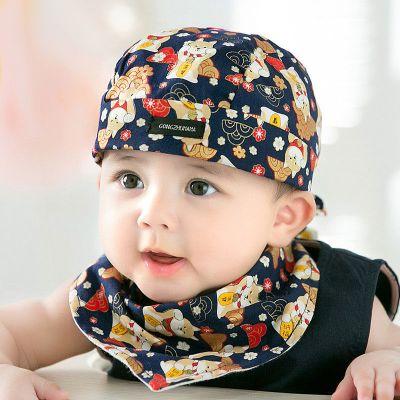 童趣熊PLAYFUL BEAR 春秋遮陽棉布帽3-6-12個月嬰兒帽子寶寶男女兒童鴨舌帽棒球帽冬天