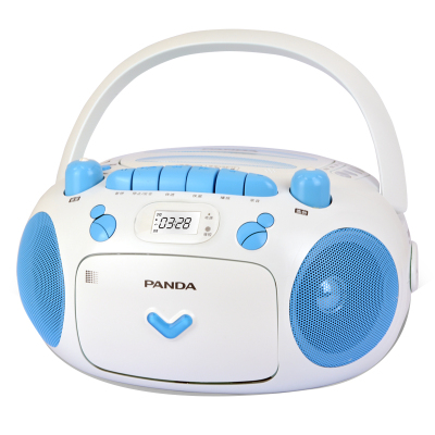 熊貓CD-203磁帶CD一體機CD機播放機錄音機可放光碟多功能學生復讀機磁帶機英語學習光盤播放器U盤卡帶收錄機家用便攜
