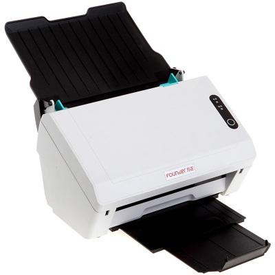 方正(Founder)F400扫描仪A4高速双面自动进纸 馈纸式扫描仪 黑白色