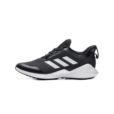 【自营】阿迪达斯童男鞋儿童鞋三条纹运动休闲运动鞋G27155