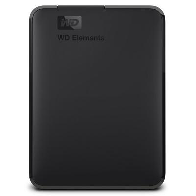 西部数据WD Elements新元素系列 2.5英寸 USB3.0 移动硬盘2TB WDBUZG0020BBK-CESN