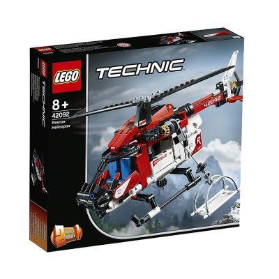 LEGO乐高 Technic机械组系列 救援直升机42092