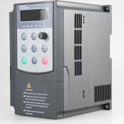 變頻器380V0.75-1.5-2.2-3.7-4-5.5-7.5KW220v三相電機調 075KW 220V 深灰色