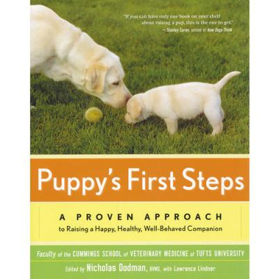 Puppy's First Steps(ISBN=9780547053615) 英文原版