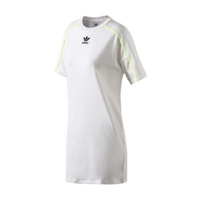 【自营】adidas阿迪达斯三叶草运动服女装休闲运动连衣裙CE4189 30 CE4189白色