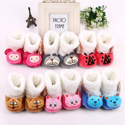 童趣鴨  嬰兒棉鞋寶寶棉鞋 毛絨鞋 嬰兒保暖棉鞋 寶寶鞋 冬季