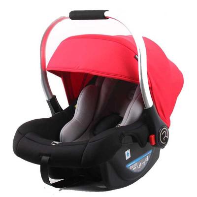 瑞贝乐(REEBABY)汽车儿童安全座椅 婴儿提篮 R006 活力红