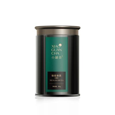 小罐茶多泡裝 特級鐵觀音清香型茶葉烏龍茶 原料采自安溪50g