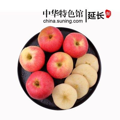 【中华特色】延长馆 耕基 早熟嘎啦红富士苹果2.5kg 陕西新鲜水果延安苹果山地国产水果脆甜粉面香苹果 西北