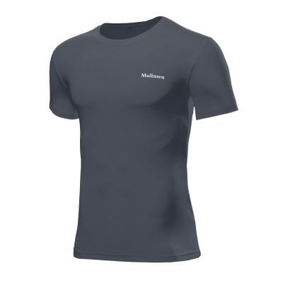 木林森(MULINSEN)男士短袖吸濕排汗速干T恤2