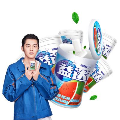益达无糖口香糖(清爽西瓜味)40粒*6瓶装