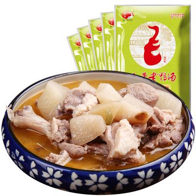 毛哥酸蘿卜老鴨湯燉料350g*5袋裝 酸蘿卜老鴨湯調料 清湯火鍋底料 燉湯煲湯料 燉排骨蹄花調味料 12月
