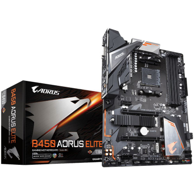 技嘉(GIGABYTE)B450 AORUS ELETE 主板 (AMD B450/Socket AM4)