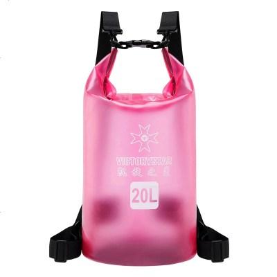 防水包水桶包泳衣收納袋健身戶外海邊沙灘浮潛裝備游泳包防飛沫包