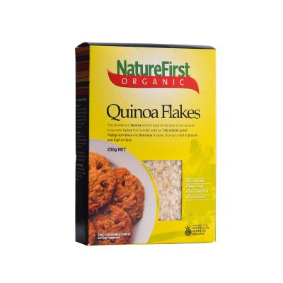 买二免一【保税直发】澳洲进口 NatureFirst ORGANIC 有机藜麦片 盒装250g 杂粮主食